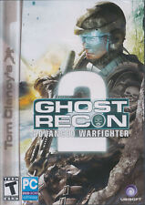 Ghost Recon Advanced Warfighter 2 II - Tom Clancy's Shooter PC Game DVD US Vers