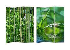 HTI-Line Paravent Bambus Sichtschutz Spanische Wand Raumteiler NEU OVP