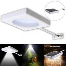 LED Solar Power Motion Sensor Wall Lights Outdoor Street Garden Lamp Waterproof