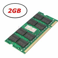 2GB (1x2GB) DDR2-800Mhz PC2-6400 Notebook Laptop (SODIMM) Memory RAM 200-pin New