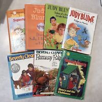 Judy Blume & Beverly Cleary Book Lot -Fudge Ramona Runaway Ralph Henry Fourth