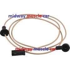 Fuel gas tank level sender sending unit wire Wiring Harness Chevy Nova 68-72