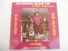 JAMES DAVIS - I GET REQUESTS - SIGNED -  - LP record