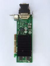 SFF DELL g0772/0g0772 GeForce mx440 p117 64mb AGP 8x DVI TV con adattatore VGA