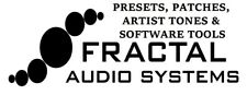 FRACTAL AUDIO/ULTRA/AXE XL presets, II Patch, impostazioni, artista Toni cabine