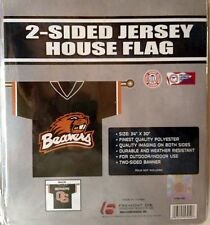 Oregon State Beavers 2-sided JERSEY Outdoor Banner Flag Football University of