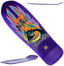 SANTA CRUZ / SMA - Natas Evil Cat - Skateboard Deck - Purple Metallic Candy