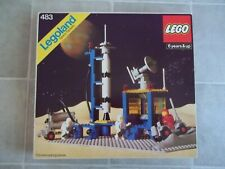Lego 483 (920) Classic Space ALPHA-1 ROCKET BASE Complete w/Box NO Instructions