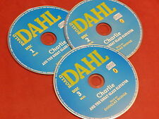 CHARLIE AND THE GREAT GLASS ELEVATOR on 3 AUDIO CDs by ROALD DAHL  NEW
