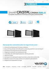 3D passive VOLFONI SMART CRISTAL CINEMA DUAL H-A   PAIR