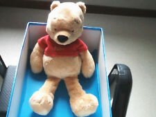 "DOUDOU 2862 / PELUCHE WINNIE L'OURSON ""DISNEY NICOTOY"" GRAND MODELE"