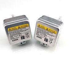 2 x D1S XENON 4300K HID Car Bulbs compatible with 66043 66142 66144 85410 UB