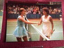 6 Chris Evert Yvonne Goolagong 1974 Photos Denver, Colo. Virginia Slims Tennis