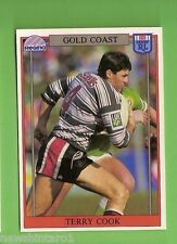 1993 RUGBY LEAGUE CARD #137  TERRY COOK, GOLD COAST SEAGULLS