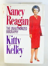 AUTOGRAPHED NANCY REAGAN 1ST EDITION THE UNAUTHORIZED BIOGRAPHY BY KITTY KELLY