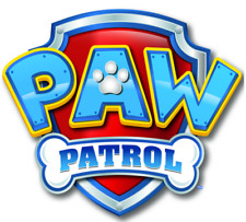 Paw Patrol Logo Cake Topper Edible Wafer Paper 7.5 Inches or Any Size Under