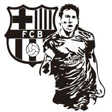 Sport Footballer Wall Sticker Lionel Messi Kids Room Wall Décor Wallpaper Poster