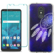 TPU Phone Case for LG Stylo 5 w/ Tempered Glass - Dream Catcher