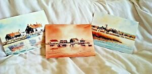 Lovely prints of Christchurch Harbour and Mudeford. Ready to be mounted & framed