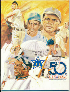 1979 MLB All Star Game program - excellent condition
