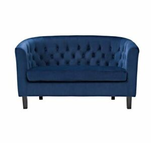 Better homE & morE_Chesterfield Loveseat_100% Polyester_Charming Colors