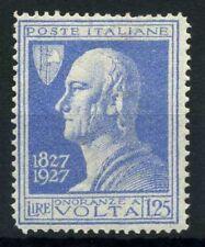 Italia Regno 1927 Sass. 213 Nuovo ** 60% Volta
