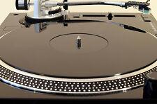 PLATO de tocadiscos Negro Brillante Mat. se adapta a Audio Technica LP120 actualización LP1240!