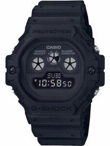 Casio G-Shock Black Stealth Series Digital Basic Color ALL Black Watch DW5900BB