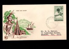 Papua & New Guinea Port Moresby 1st Day 1964 Various Local Medicine 8d Cover 5l
