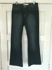 "Womens JEANSWEST JEANS SIZE 9 ""BOOTCUT"""