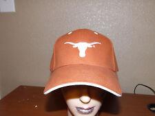 Texas Longhorns orange cow skull hat