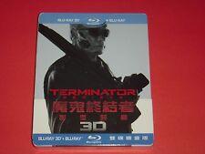 Terminator Genisys 2D/3D Full-Slip Limited Steelbook Edition from Taiwan