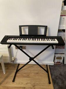 Yamaha Piaggero NP11 61 Key Piano/Keyboard & Stand