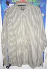 Indigo Palms by Tommy Bahama Long Sleeve 100% Cotton Button Front Shirt Size XXL