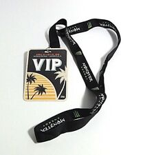 WELCOME TO ROCKVILLE 2018 VIP Badge and MONSTER ENERGY Lanyard