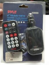 "Pyle - PLMP4C4 2"" Mobile MP4 SD/MMC Audio Video Player w/ FM Transmitter"