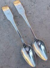 (2) PAUL SAYRE, Southampton, NY, Coin Silver, tea spoons