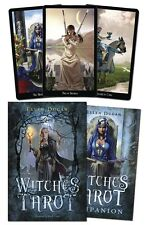 Witches Tarot - Based on a Rider-Waite-Smith Deck - 78 Card Deck & 312 Page Book