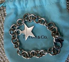 Tiffany & Co. Star Silver .925 Charm Bracelet Rare
