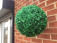 Hanging Artificial Boxwood Topiary Ball 36cm