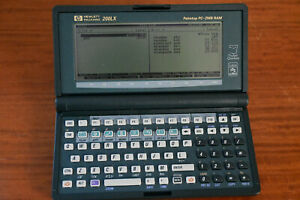 HP 200LX 2MB Palmtop with accessories