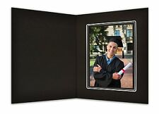 Cardboard Photo Folder For a 4x6 Photo (Pack of 100) Gs001-S Black Color
