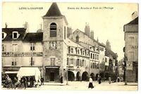 CPA 39 Jura Lons-le-Saunier Entrée des Arcades et Pont de l'Horloge