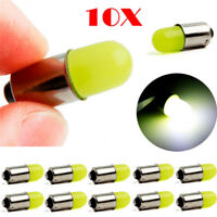 10X T11 363 BA9S COB LED Round 3D T4W Lamp Bright White Xenon Bulb Lamp 12V  I