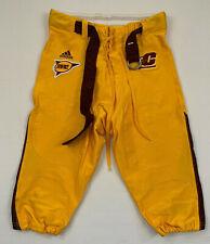 ADIDAS central michigan university chippewas team issued football pants sz 44