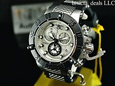 Invicta 50mm Subaqua Noma III Swiss Chronograph Silver Dial Stainless Stee Watch