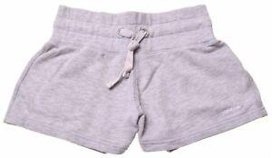 REEBOK Womens Sport Shorts UK 10 W26 Grey Cotton  HO11