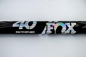 Fox Fork 40 Factory  Mountain Bike Cycling Decal Sticker