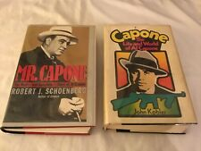 MR. CAPONE, by Schoenberg, 1st/1st Ed, and CAPONE by John Kobler