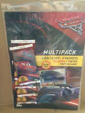 DISNEY CARS - Cars 3 Trading Card Game Multipack - Contains 5 Packs Of Cards